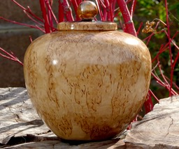 Masur Birch Lidded Pot 1